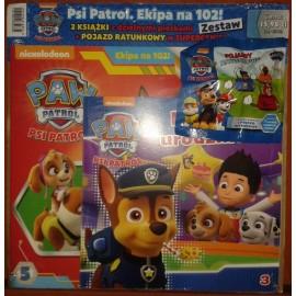 Psi patrol -Ekipa na 102! Zestaw nr 1