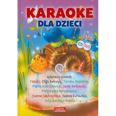 Karaoke dla dzieci + CD i DVD gratis
