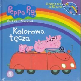 Świnka Peppa Bajeczki 9 Kolorowa tęcza