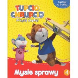 Tupcio Chrupcio Przybij Łapkę! 4 Mysie w lesie