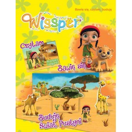 Wissper Bawię się czytam Buduję świat pustyni