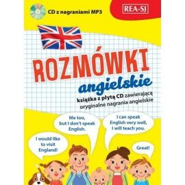 Rozmówki angielskie szkolne + CD