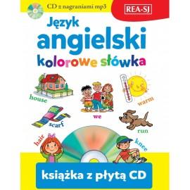 Język angielski kolorowe słówka + CD