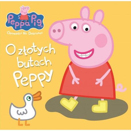 Peppa Pig Opowieści na dobranoc 4 - O złotych butach Peppy