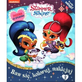 Shimmer and Shine + naklejki nr 2