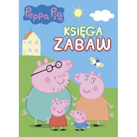 Peppa Pig Księga zabaw 1 / miękka