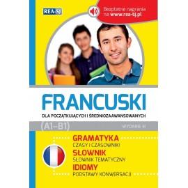 Francuski dla początkujących i średniozaawansowanych (A1-B1)