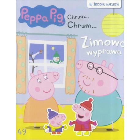 Świnka Peppa Chrum49 Zimowa wyprawa