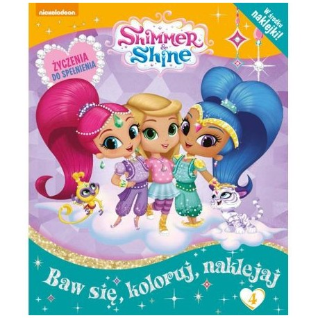 Shimmer and Shine + naklejki nr 4