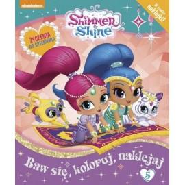 Shimmer and Shine + naklejki nr 5