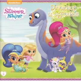 Shimmer & Shine 5 Dinozaur w ogrodzie