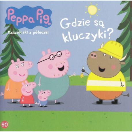 Świnka Peppa Książeczka 50 Gdzie są kluczyki