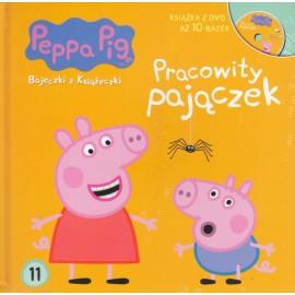 Świnka Peppa Bajeczki 11 Pracowity pajączek