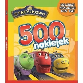 Stacyjkowo 500 naklejek