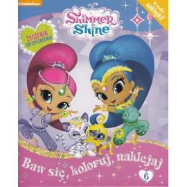 Shimmer & Shine + naklejki nr 6