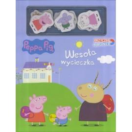Peppa Pig Przyczep magnes cz. 1 Wesoła wycieczka