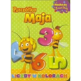 Pszczółka Maja Nauka dla zucha 1 Liczby w kolorach