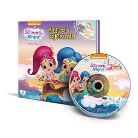 Shimmer & Shine książka z DVD 2 Magiczne życzenia