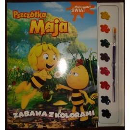 Pszczółka Maja Malowany świat 1 Zabawa z kolorami