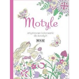 Kolorowanki dla dorosłych Motyle