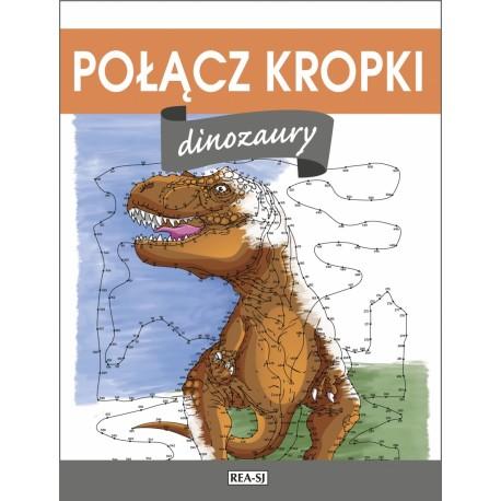 Połącz kropki Dinozaury