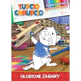 Tupcio Chrupcio Dodaj kolorów! cz. 1 Ulubione zabawy