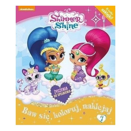 Shimmer & Shine + naklejki nr 7