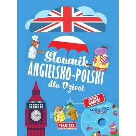 Słownik ang-pol dla dzieci + CD gratis