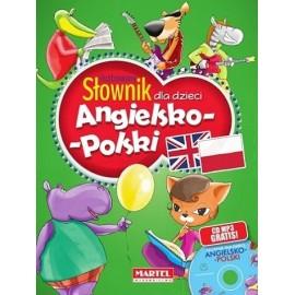 Ilustrowany słownik dla dzieci ang-pol + CD