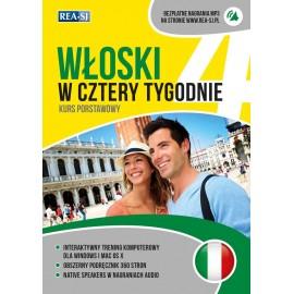 Włoski w cztery tygodnie MP3 /nowe