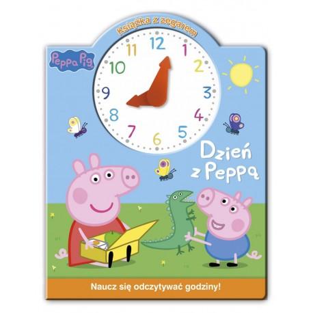 Peppa Pig z zegarem Dzień z Peppą