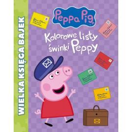 Peppa Pig Wielka księga bajek Kolorowe l