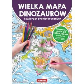 Wielka mapa dinozaurów