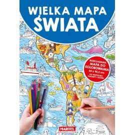Wielka mapa świata