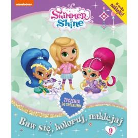 Shimmer & Shine + naklejki nr 9