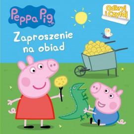 Peppa Pig Odkryj i czytaj Zaproszenie na obiad