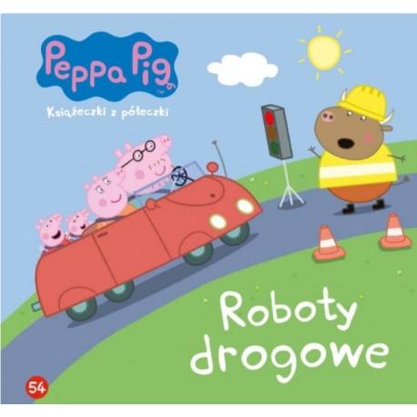 Świnka Peppa Książeczka 54 Roboty drogowe