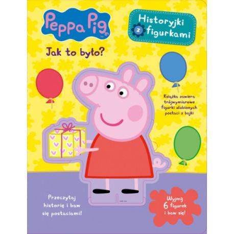 Peppa Pig Historyjki z figurkami Jak to było?