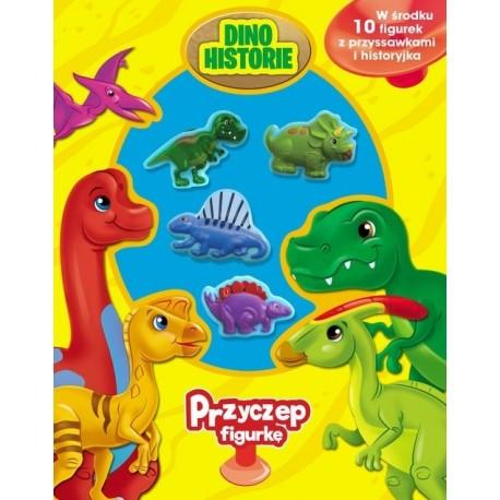 Dinozaury Przyczep figurkę