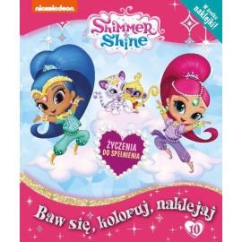 Shimmer & Shine + naklejki nr 10