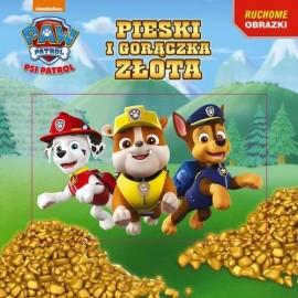 Psi Patrol Ruchome obrazki Pieski i gorączka złota