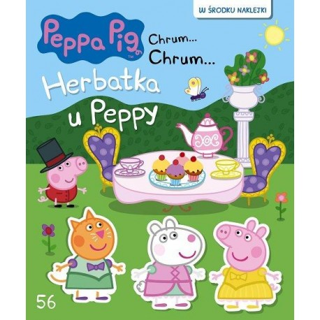 Świnka Peppa Chrum56 Herbatka u Peppy