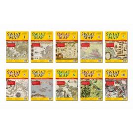 Świat Dawnych Map Zeszyt 1-10