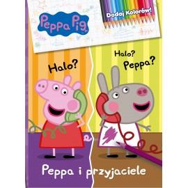 Peppa Pig Dodaj kolorów cz. 4 Peppa i przyjaciele