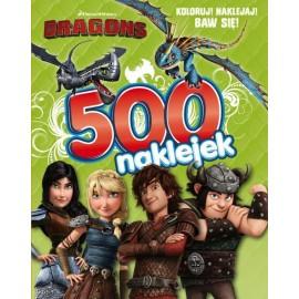 Dragons 500 naklejek cz. 1