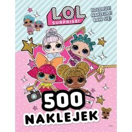 LOL Suprise 500 naklejek cz. 1