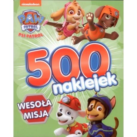 Psi Patrol 500 naklejek cz. 2 Wesoła misja