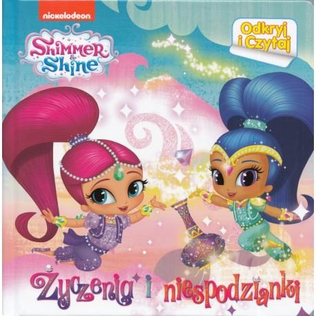 Shimmer & Shine. Odkryj i czytaj. Życzenia i niespodzianki