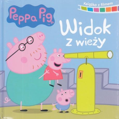 Peppa Pig. Książka z filmem. Widok z wieży