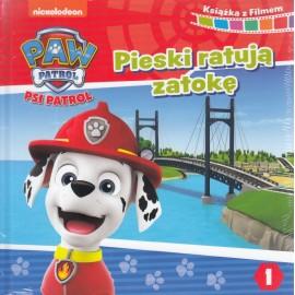 Psi Patrol. Książka z filmem. Pieski ratują zatokę